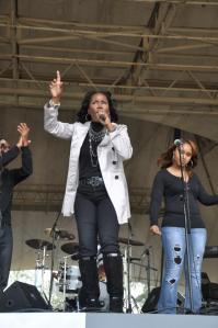 Bre singing Oh Magnify @ MLK Gospel Festival Jan. 2013 Jacksonville FL feat. CeCe Winans