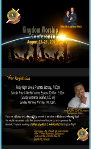 Kingdom Worship flyer 3-3