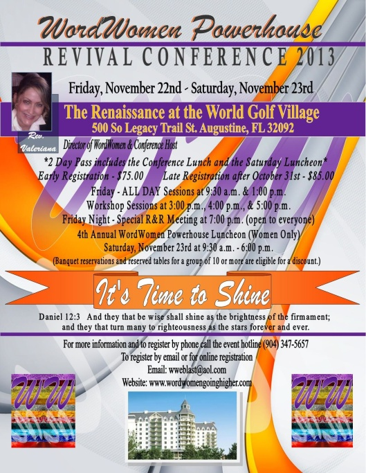 Word Women Powerhouse Revival Conference